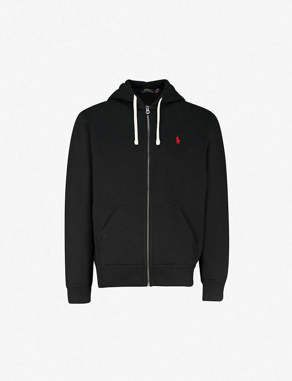Polo Ralph Lauren Zip Up Cotton Blend Hoody Selfridges Com