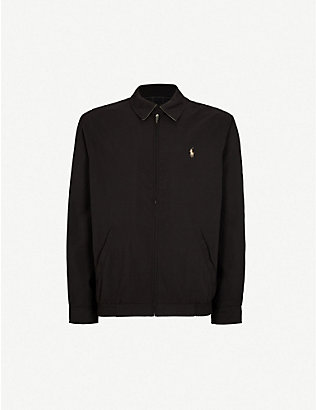 POLO RALPH LAUREN: New fit bi-swing windbreaker jacket