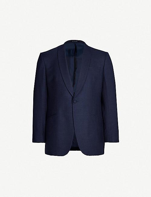 07f38ceb0fa9 RICHARD JAMES Basketweave regular-fit tuxedo jacket