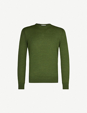 RICHARD JAMES Crewneck wool jumper