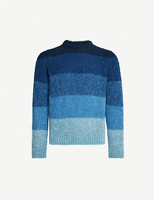 RICHARD JAMES Striped wool-blend jumper