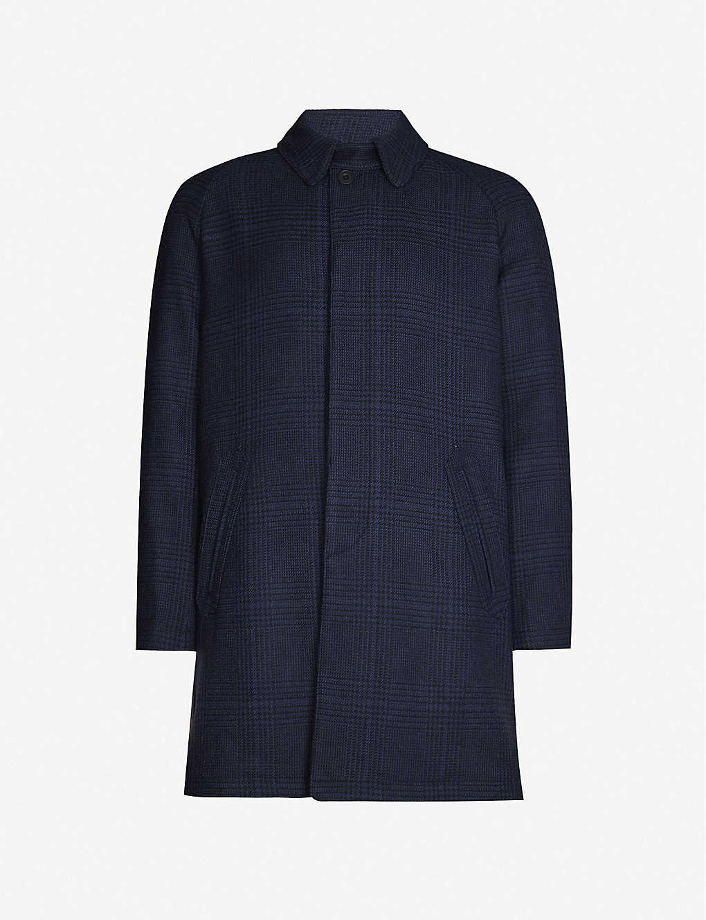 RICHARD JAMES: Waterproof wool-blend coat
