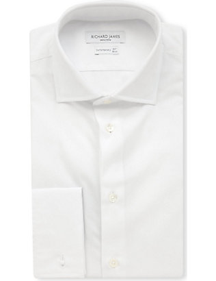 RICHARD JAMES: Cotton-poplin regular-fit shirt