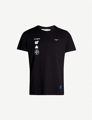 OFF-WHITE C/O VIRGIL ABLOH Graphic-print cotton-jersey T-shirt