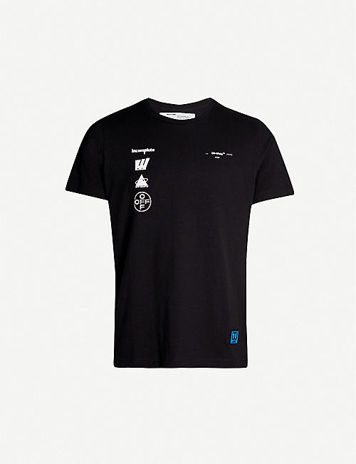 7b5ce6b9 Off White Men's - T-shirts, Belts, Shoes & more | Selfridges