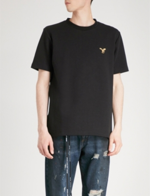 af2862ec062f OFF-WHITE C O VIRGIL ABLOH - Eagle logo cotton-jersey T-shirt ...