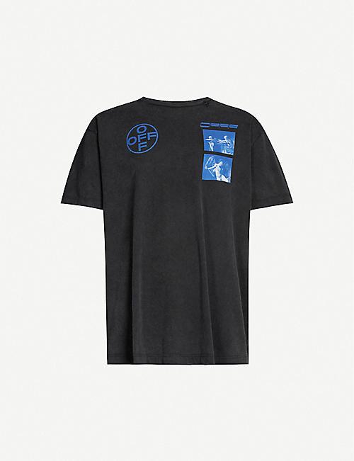 84530f06d83 Off White Men's - T-shirts, Belts, Shoes & more   Selfridges
