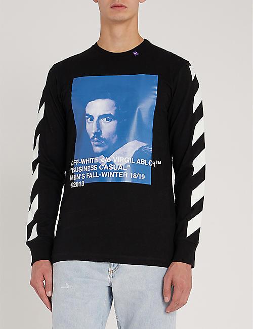 94c9ef122 Tops & t-shirts - Clothing - Mens - Selfridges | Shop Online