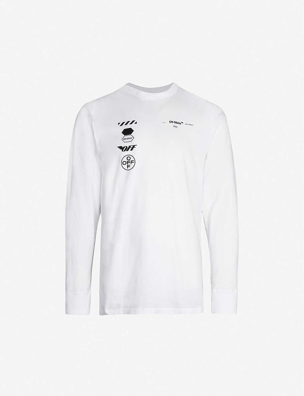 e74cde8a3e Off White Virgil Abloh Long Sleeve T Shirt - raveitsafe