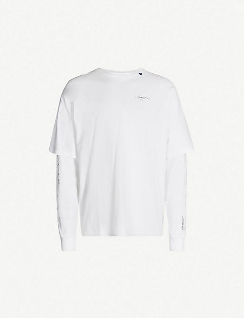 5052e8d45 Off White Men's - T-shirts, Belts, Shoes & more | Selfridges