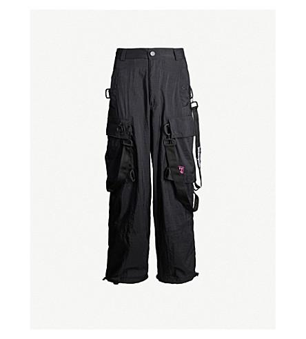 Off-White Pants Bondage cargo shell trousers