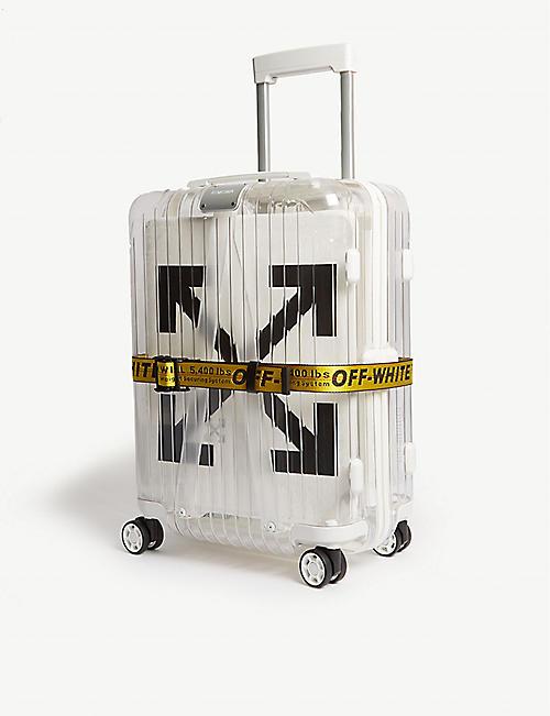 b9e700a462a8 OFF-WHITE C O VIRGIL ABLOH Off-White x Rimowa PVC suitcase 55cm