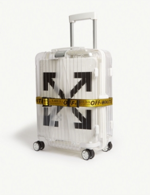 OFF-WHITE C/O VIRGIL ABLOH Off-White x Rimowa PVC suitcase 55cm