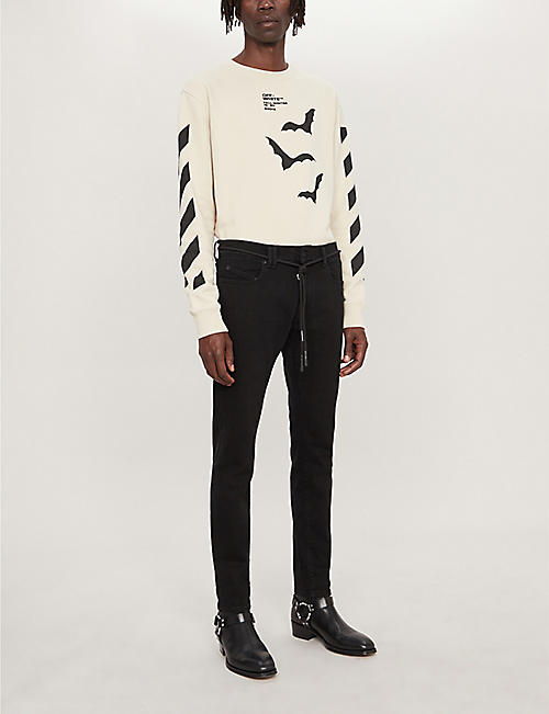 OFF-WHITE C/O VIRGIL ABLOH Slim-fit skinny jeans