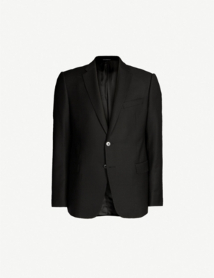 EMPORIO ARMANI Regular-fit wool blazer