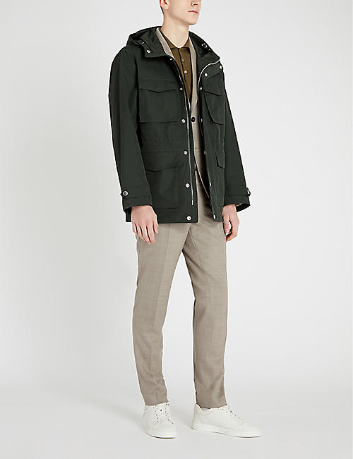 EMPORIO ARMANI Field hooded shell jacket