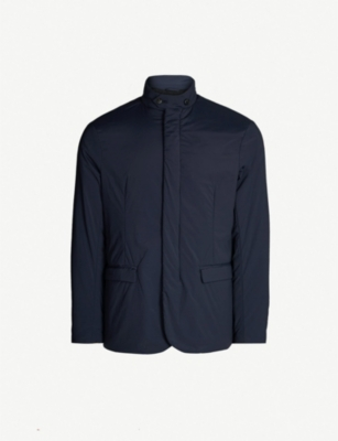 EMPORIO ARMANI Boxy-fit shell jacket