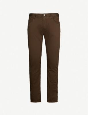 EMPORIO ARMANI Slim-fit straight jeans