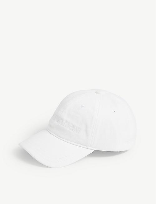 96d96291911 EMPORIO ARMANI Logo-embroidered cotton baseball cap