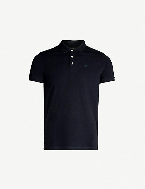 4b401273e6a3 EMPORIO ARMANI - Polo shirts - Tops   t-shirts - Clothing - Mens ...