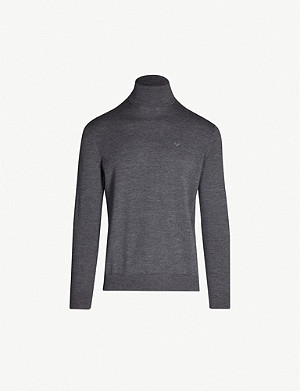 EMPORIO ARMANI Turtleneck wool jumper