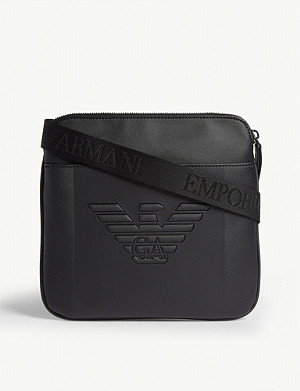 EMPORIO ARMANI Embossed logo cross-body bag