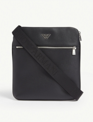 EMPORIO ARMANI Faux-leather cross-body bag