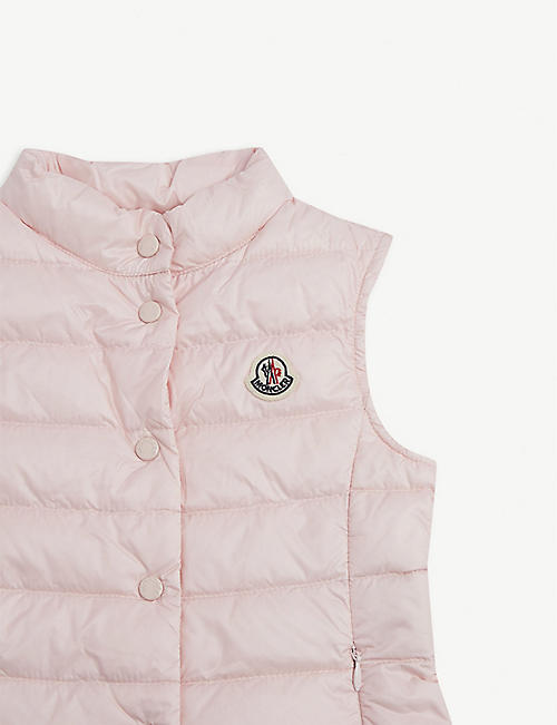 MONCLER Liane quilted gilet 4-14 years