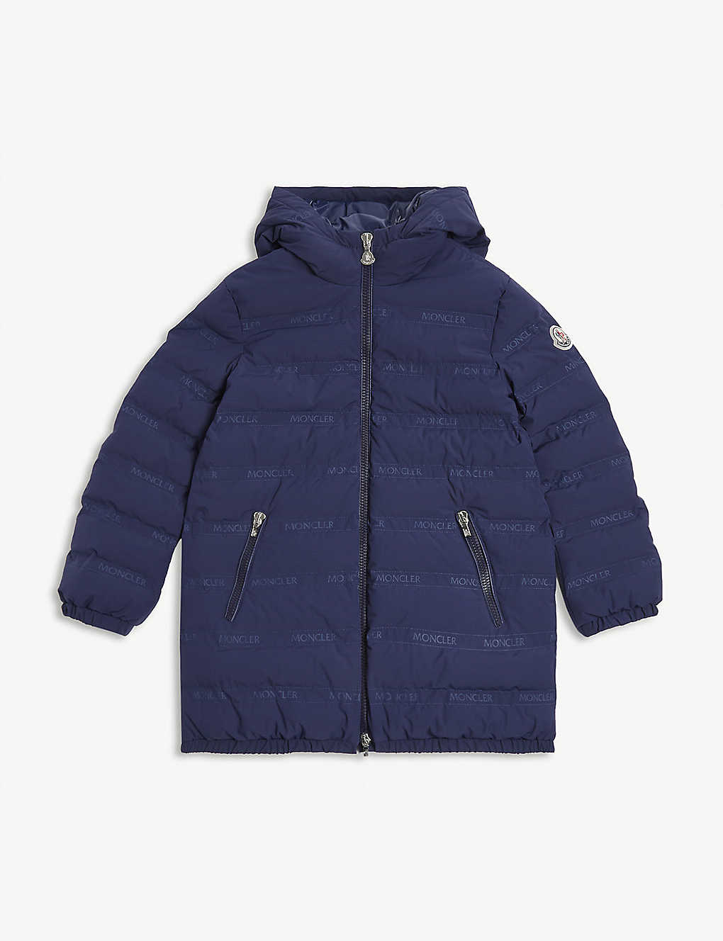 MONCLER: Padded shell coat 8-14 years