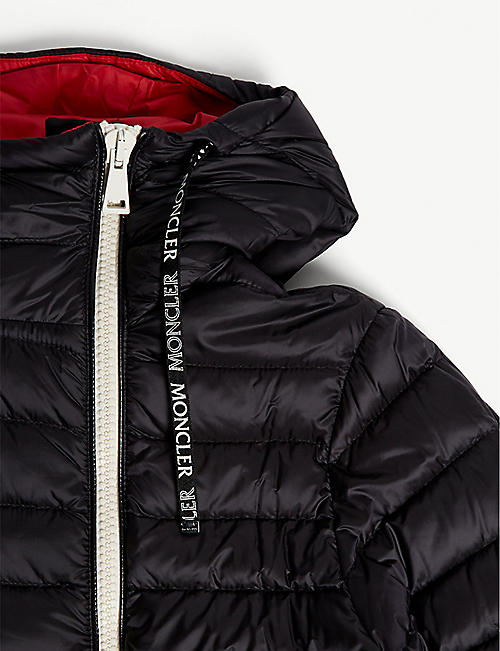 MONCLER Stockholm hooded quilted jacket 8-14 years