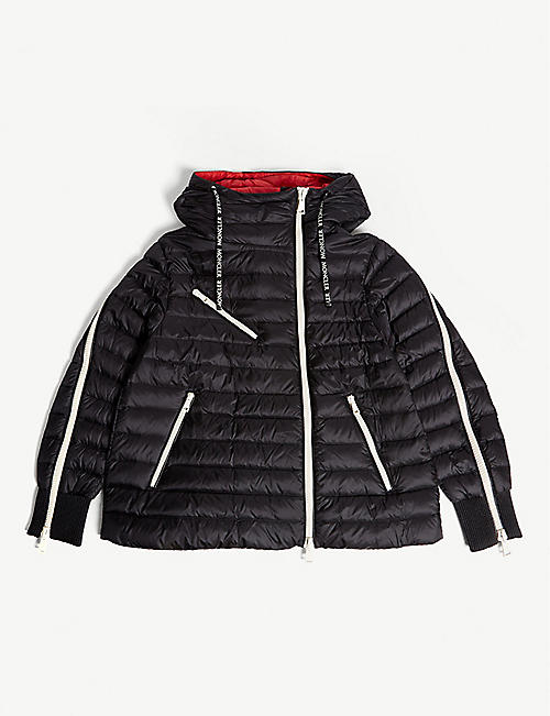 2afe100115dd MONCLER Stockholm hooded quilted jacket 8-14 years