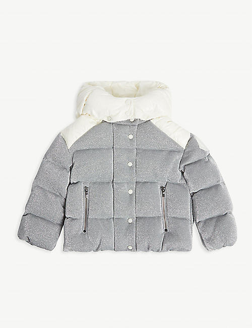 MONCLER Chouette shell-down jacket 4-14 years