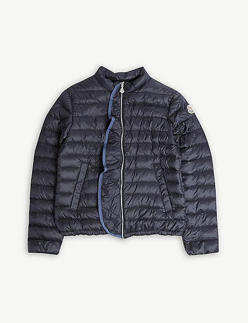 MONCLER Padded zip jacket 4-14 years