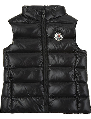 3e2f4836948 MONCLER - Tib down padded gilet 4-14 years | Selfridges.com