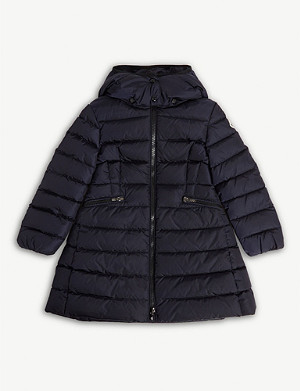 MONCLER Charpal quilted puffer coat 4-14 years