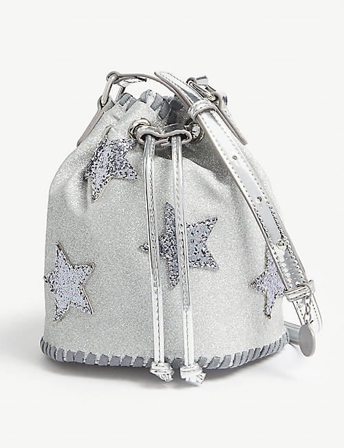 35e49a827c96 STELLA MCCARTNEY Star glitter bucket bag