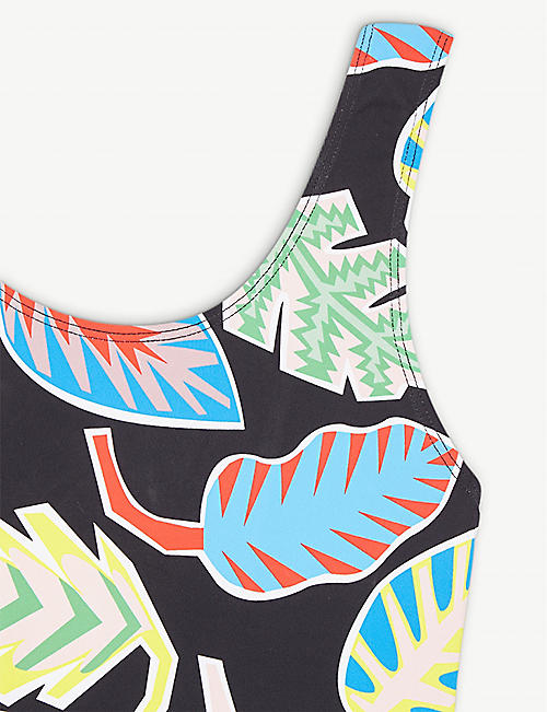 STELLA MCCARTNEY Tropical-print swimswuit