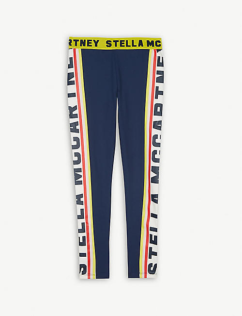 b5903fb544b STELLA MCCARTNEY Branded stripe leggings 4-16 years