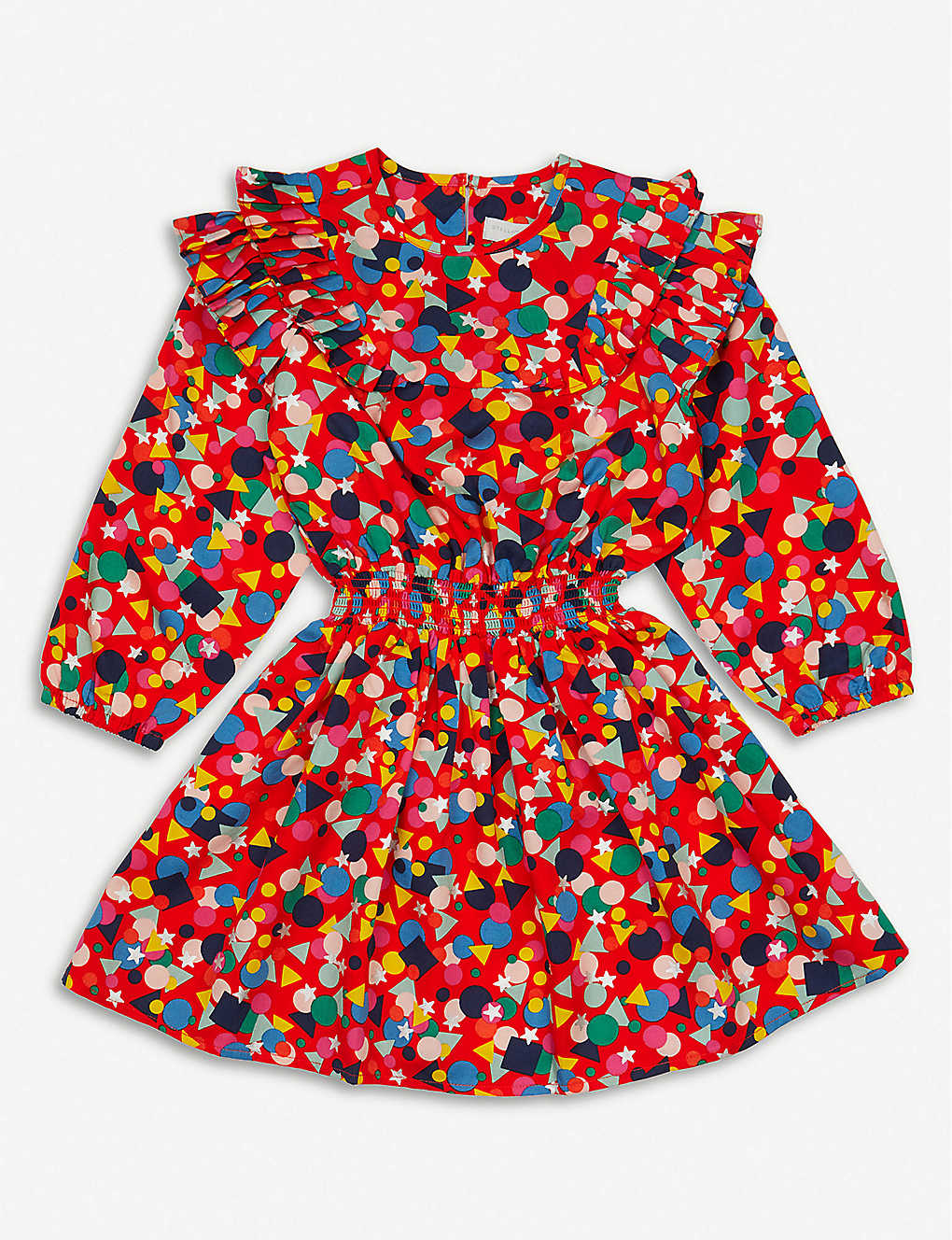 STELLA MCCARTNEY: Graphic-print lyocell dress 4-15 years