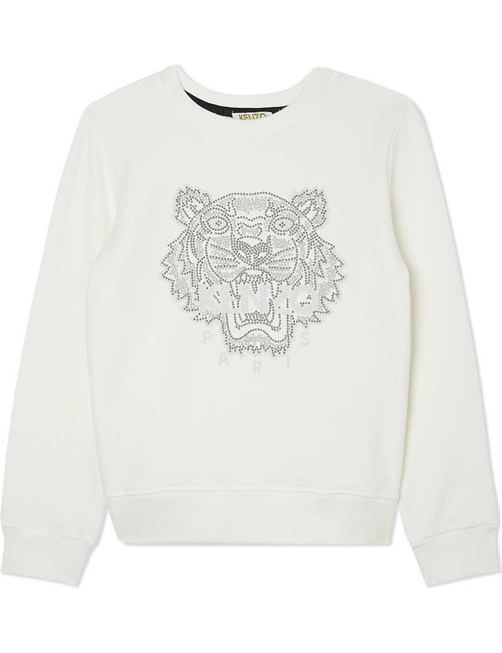 365cab0c KENZO - Beaded tiger cotton jumper 4-16 years | Selfridges.com