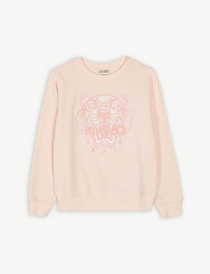 KENZO Tiger icon cotton sweatshirt 4-14 years