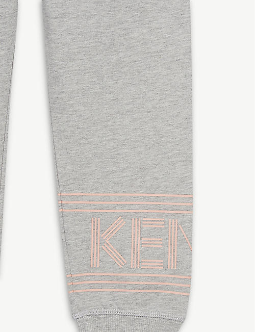 KENZO Cotton jogging bottoms 4-14 years