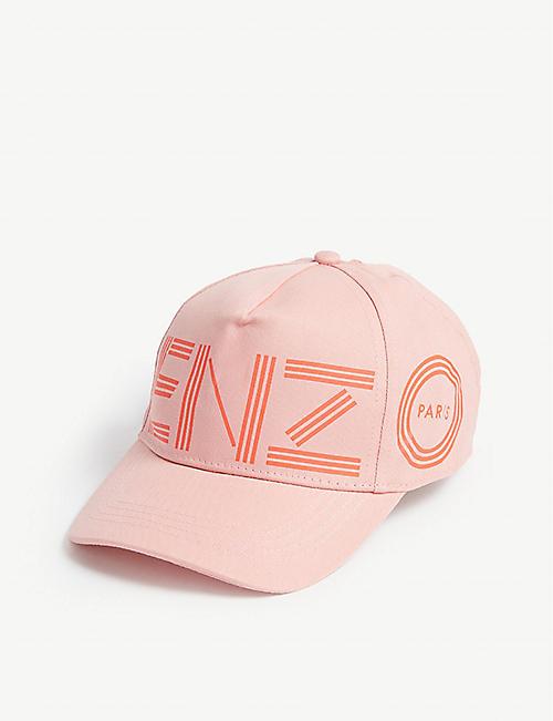 KENZO Logo cotton cap d7acce8c7c6f