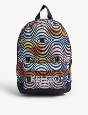 KENZO Eye logo backpack