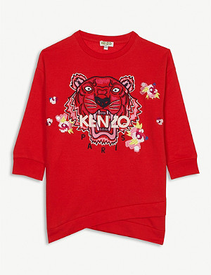 KENZO Floral sweat dress 4-14 years