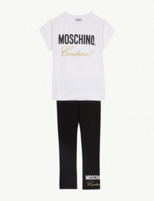 MOSCHINO Couture top and leggings set 4-14 years