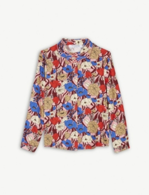 VIVETTA Floral print blouse 4-14 years