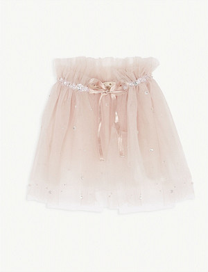 TUTU DU MONDE Enchanting jewel tulle cape