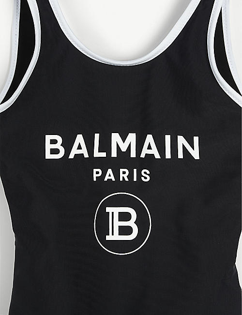 BALMAIN Logo-print swimsuit 2-16 years