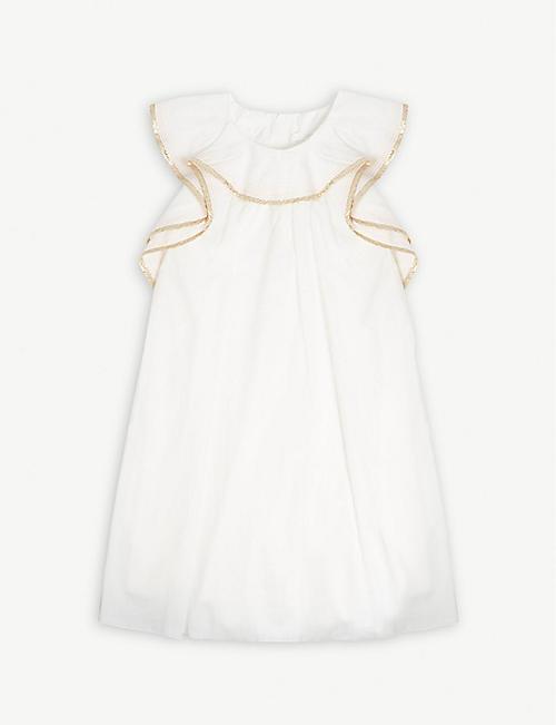 f81831c3b7a84 CHLOE Ruffled dress 4-14 years